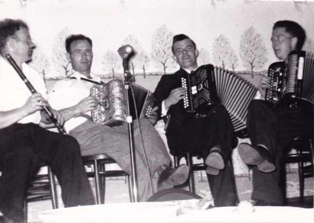 Seamus Cooley, Joe Cooley, Martin McHugh